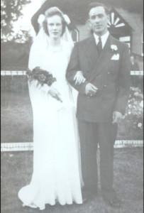 Matthew Mansel Falls & Eleanor Maude (Van Every) FallsJuly 28, 1948Meldrum Bay, Manitoulin Island, Ontario