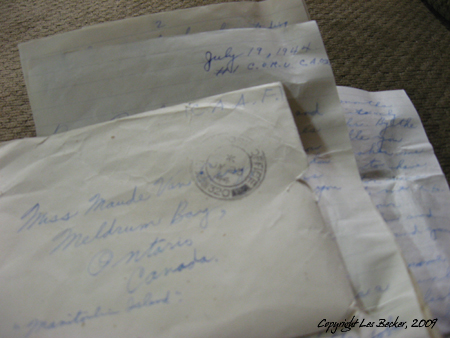 A Letter from Overseas-1944